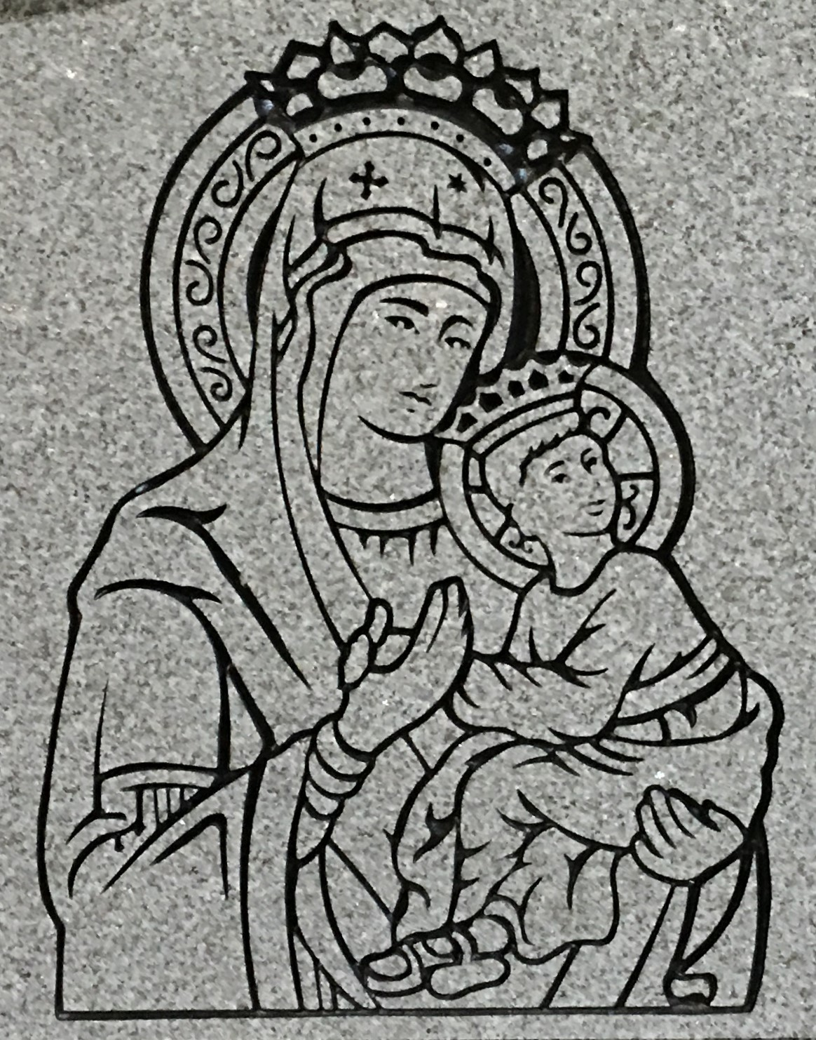 Mary-and-Baby