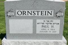 Gray-Granite-Polished-front-Holocaust-Survivor-Embelms-Ornstein
