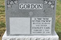 Gray-Granite-Polished-front-corner-grape-design-Gordon